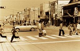 昭和49年大通り商店街の街並み