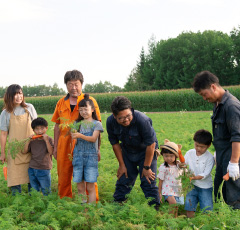 有機野菜生産者(株)一戸農場